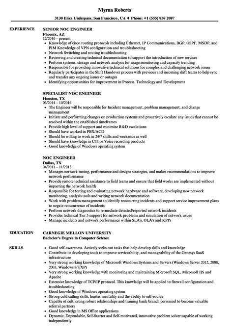 Ericsson noc engineer resume png 860x1240